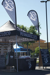 Hangtown MX Block Party Booth Motocross Action Sports