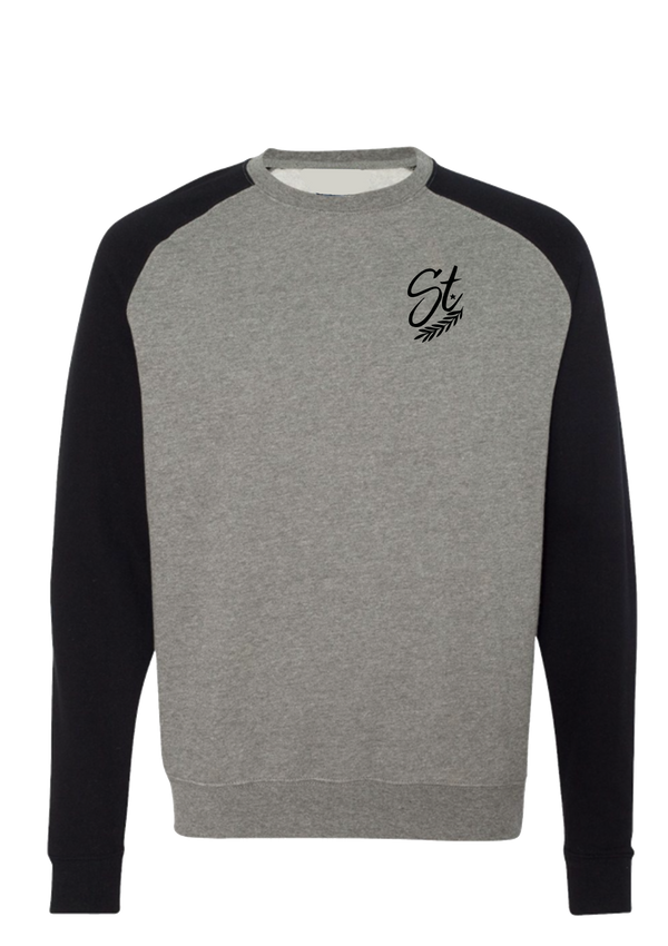 Crewneck - Grey/Black | Pinner - Sweatshirt | StandardCloCo™