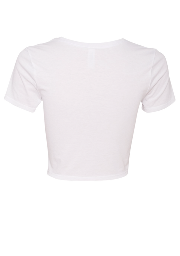 Women's Crop Top - White | Signature - Tee | StandardCloCo™