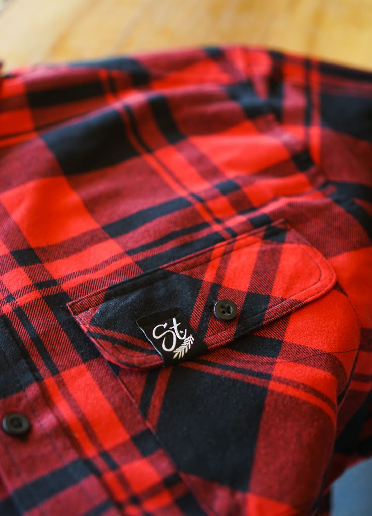 Flannel - Black / Red | Original - Flannel | StandardCloCo™