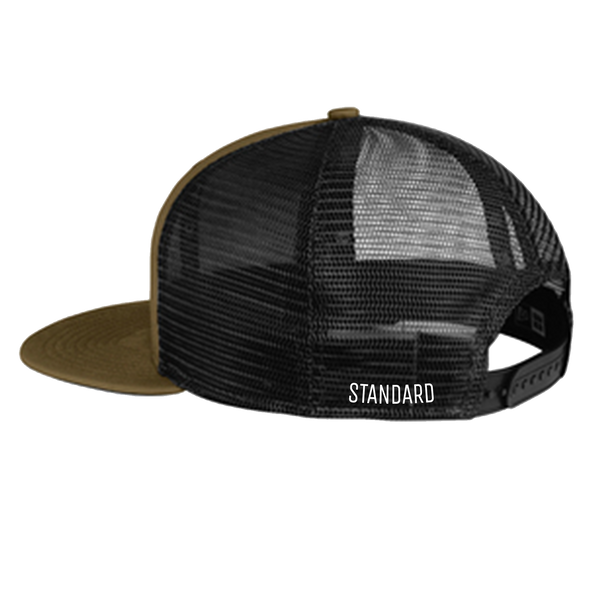 Meshback Hat - Olive / Black | Original - Hat | StandardCloCo™