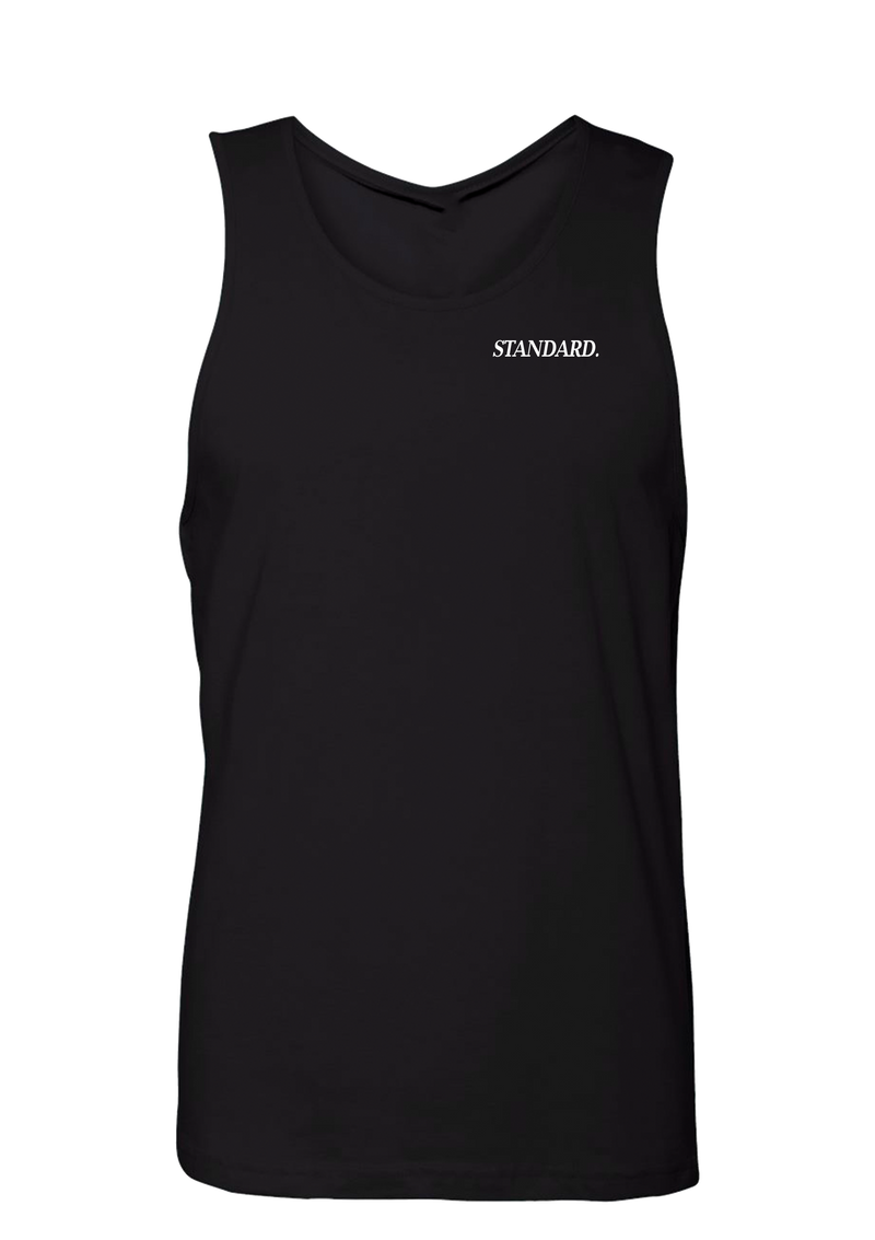 Men's Tank - Black | Pinner - Tank Top | StandardCloCo™
