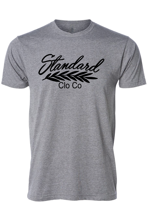 Men's Tee - Grey | Classic - Tee | StandardCloCo™