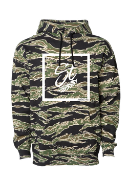 Hooded Pullover - Tiger Camo | Perimeter - Sweatshirt | StandardCloCo™