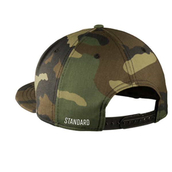 Snapback - Camo | Original - Hat | StandardCloCo™