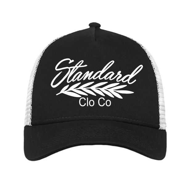 Trucker Hat - Black | Classic - Hat | StandardCloCo™