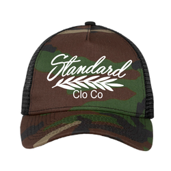 Trucker Hat - Camo / White | Classic - Hat | StandardCloCo™