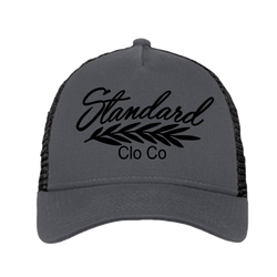 Trucker Hat - Grey / Black | Classic - Hat | StandardCloCo™