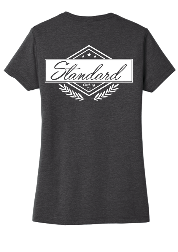 Women's Tee - Charcoal | Original - Tee | StandardCloCo™