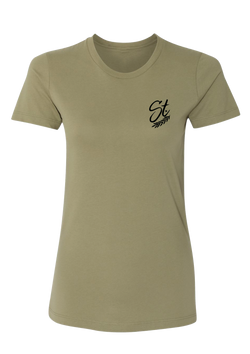 Women's Tee - Army Green | Original - Tee | StandardCloCo™