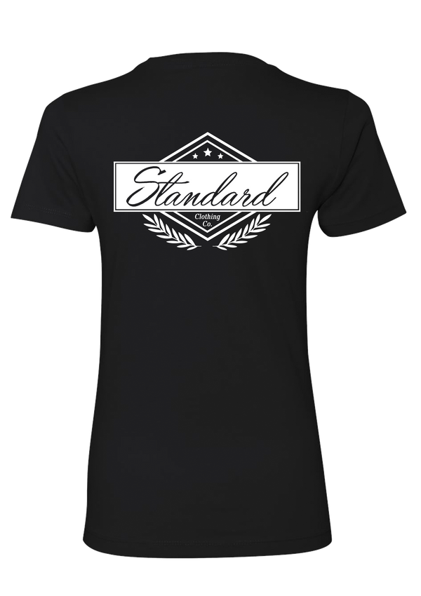 Women's Tee - Black | Original - Tee | StandardCloCo™