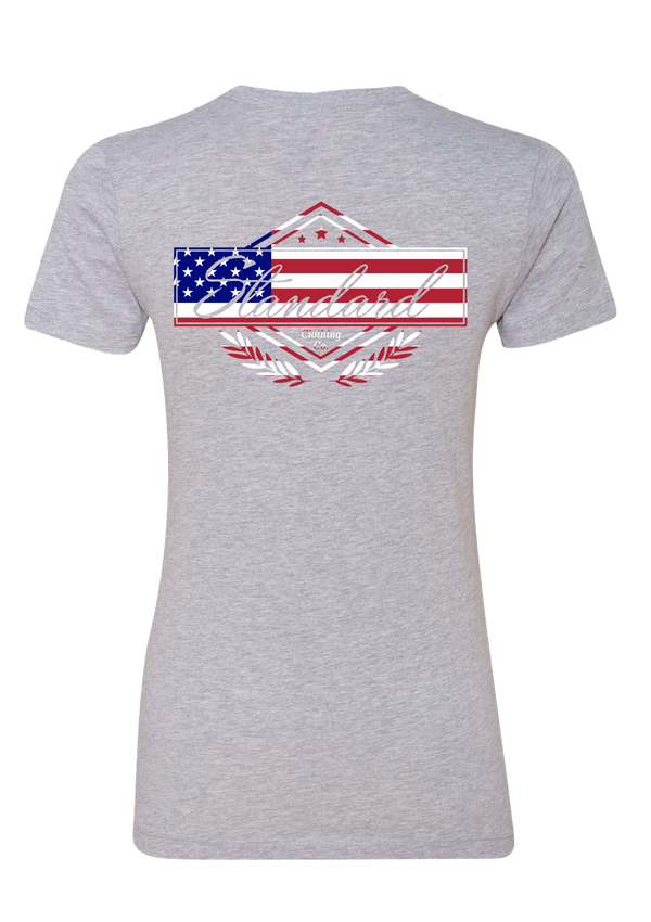 Women's Tee - America | Original - Tee | StandardCloCo™