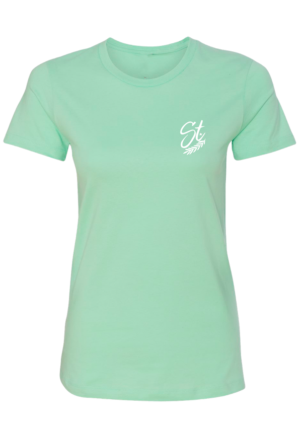 Women's Tee - Mint | Original - Tee | StandardCloCo™