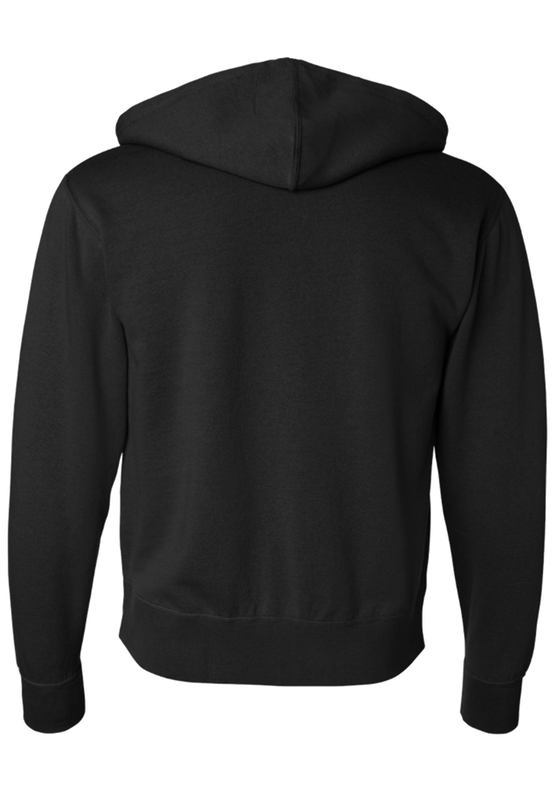 Zip Hooded Sweatshirt - Black | Signature - Sweatshirt | StandardCloCo™