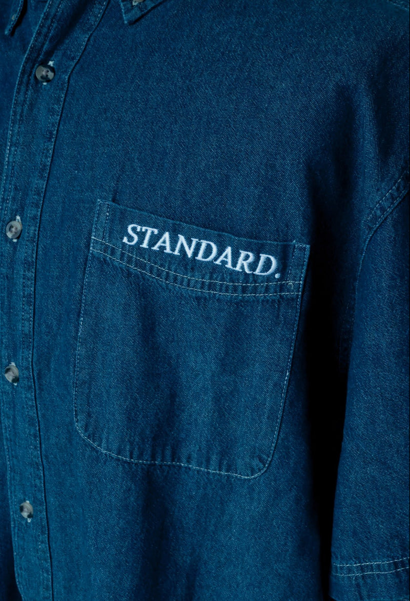 Denim Button Down | Pinner -  | StandardCloCo™