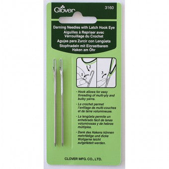 Clover Darning Needle - Latch Hook Eye