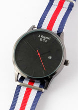 Frankfurt - Men's Watch With Wellington NATO Field Strap - Close Up
