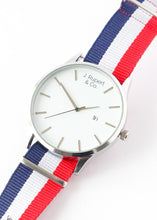 Marseille - Men's Watch With RAF NATO Field Strap - Close Up