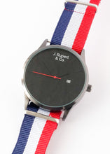 Moscow - Men's Watch With RAF NATO Field Strap - Close Up