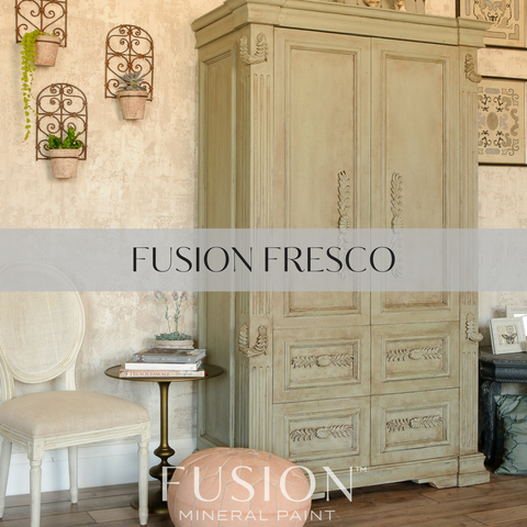 Fusion Fresco for a textured look.  | fusionmineralpaint.com