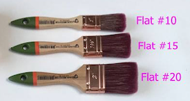 Staalmeester Paintbrush in 3 sizes.  | fusionmineralpaint.com