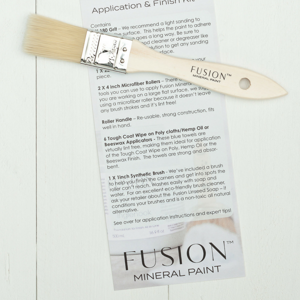 Contents of the Fusion Roller Kit.  | fusionmineralpaint.com