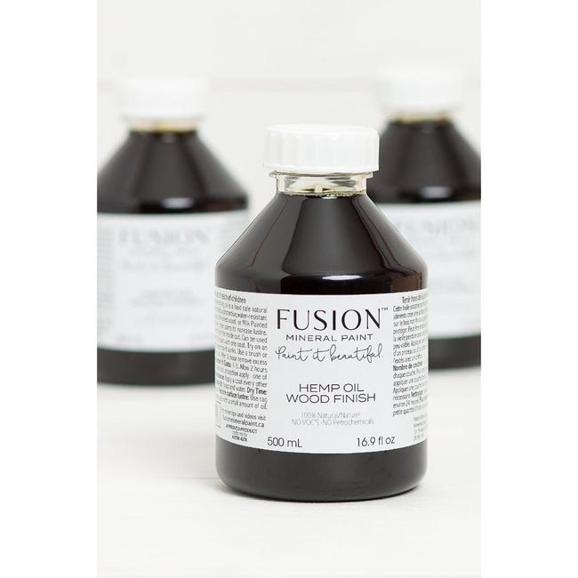 Hemp Oil Wood Finish from Fusion Mineral Paint