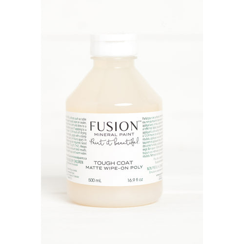Tough Coat Clear Matte Wipe On Poly from Fusion Mineral Paint
