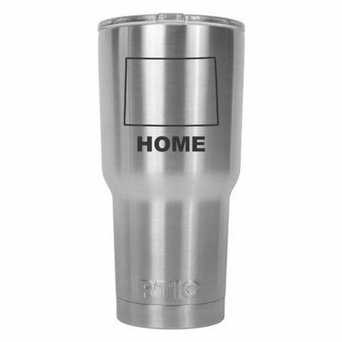 Colorado Home State RTIC Stainless Steel Tumbler 30oz