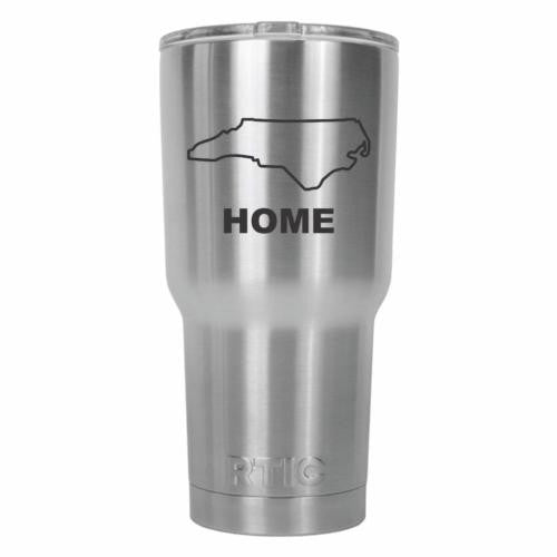 North Carolina Home State RTIC Stainless Steel Tumbler 30oz