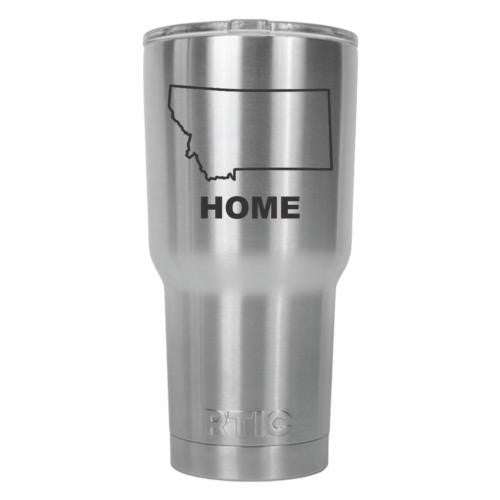 Montana Home State RTIC Stainless Steel Tumbler 30oz