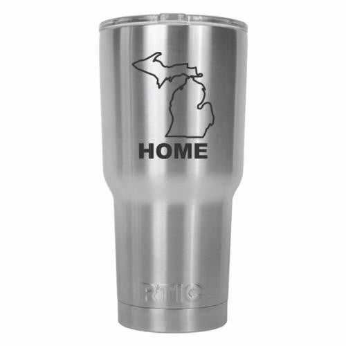 Michigan Home State RTIC Stainless Steel Tumbler 30oz