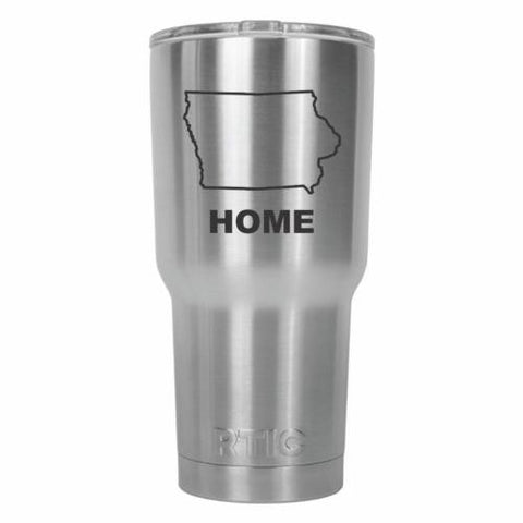 Iowa Home State RTIC Stainless Steel Tumbler 30oz