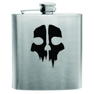 Call of Duty Ghosts Stainless Steel Hip Flask 6oz