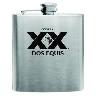 Dos Equis Stainless Steel Hip Flask 6oz