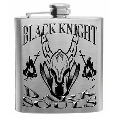 Dark Souls, Black Knight Stainless Steel Hip Flask 6oz