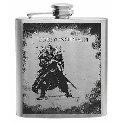 Dark Souls Stainless Steel Hip Flask 6oz