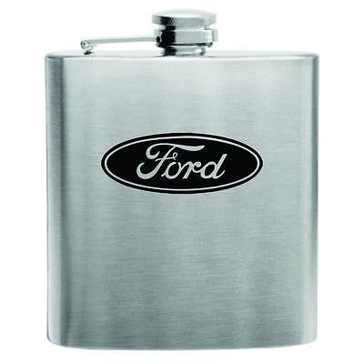Ford Motor Stainless Steel Hip Flask 6oz