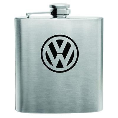 Volkswagen Stainless Steel Hip Flask 6oz