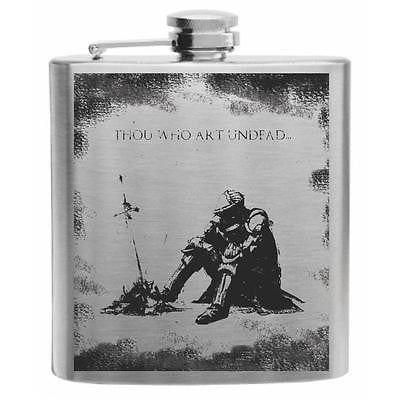Dark Souls, Night of Astora Stainless Steel Hip Flask 6oz