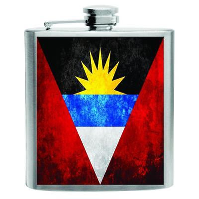 Antigua and Barbuda Flask