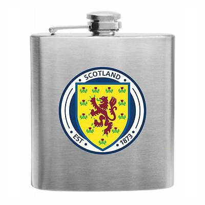 Scotland Football Stainless Steel Hip Flask 6oz