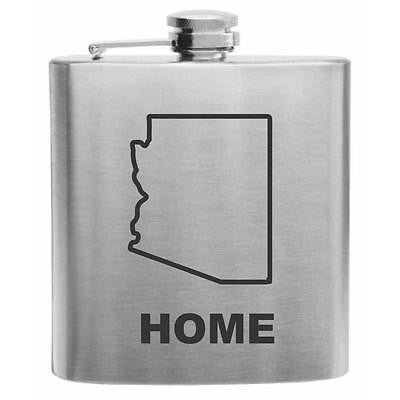 Arizona Home State Flask