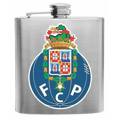 FC Porto Portugal Soccer Stainless Steel Hip Flask 6oz