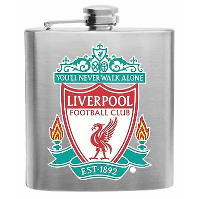 Manchester United FC Stainless Steel Hip Flask 6oz