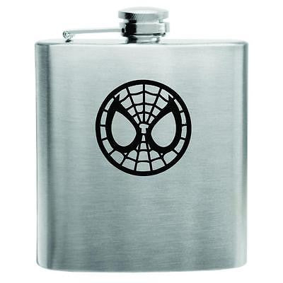 Spiderman Stainless Steel Hip Flask 6oz