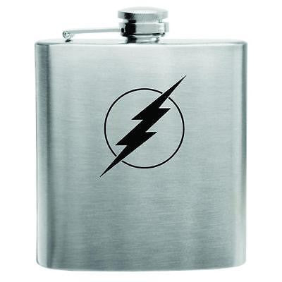 The Flash Stainless Steel Hip Flask 6oz