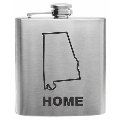 Alabama Home State Flask