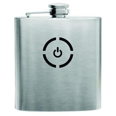 Xbox Power up Stainless Steel Hip Flask 6oz