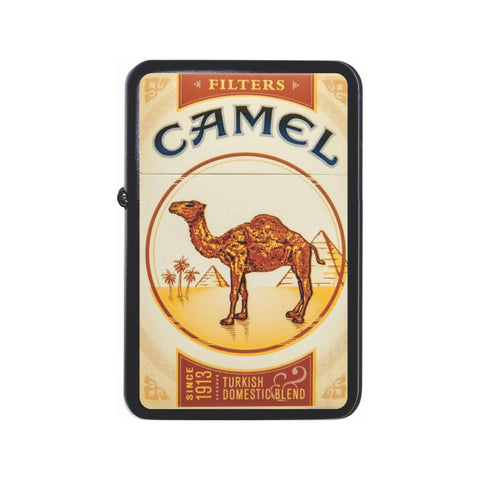 Camel Cigarette Box Black Z Plus 2 Vertigo Lighter